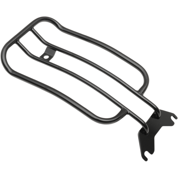 Motherwell Luggage Rack - Gloss Black - Softail