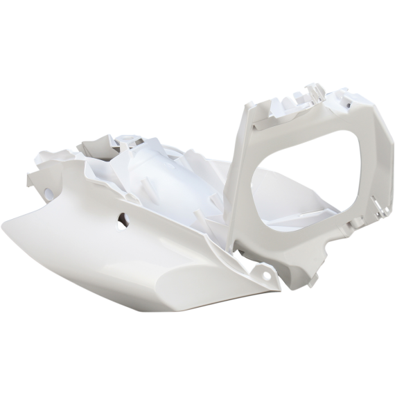 Acerbis Plastic Body Kit - Black/Orange/White - KTM - '12