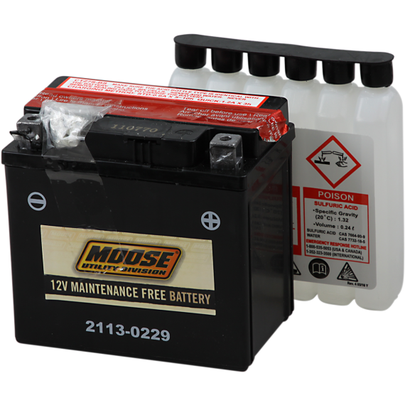 Moose Racing AGM Battery - YTZ7S