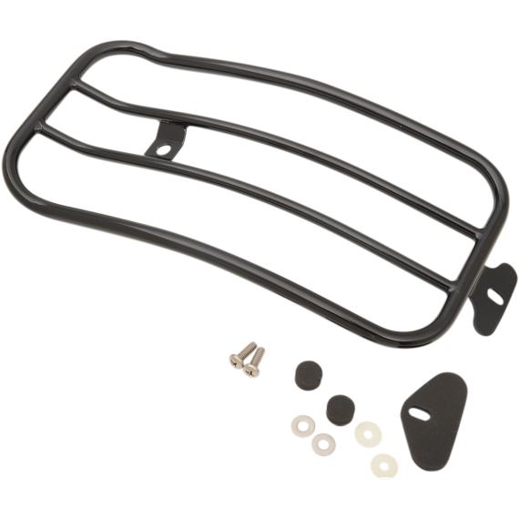 Motherwell Luggage Rack - Gloss Black - Dyna