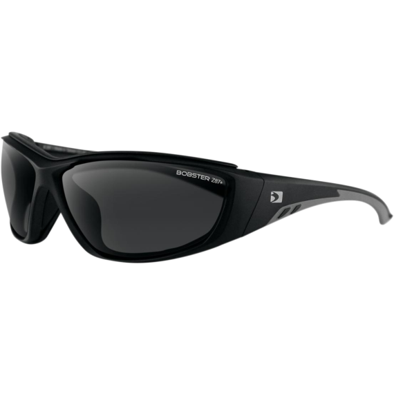 Bobster Rider Sunglasses  - Rider Sunglasses - Matte Black - Smoke