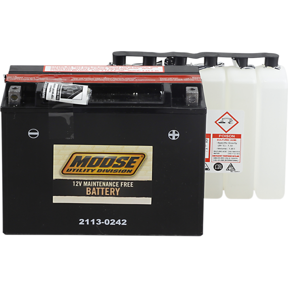 Moose Racing AGM Battery - YTX24HL-BS