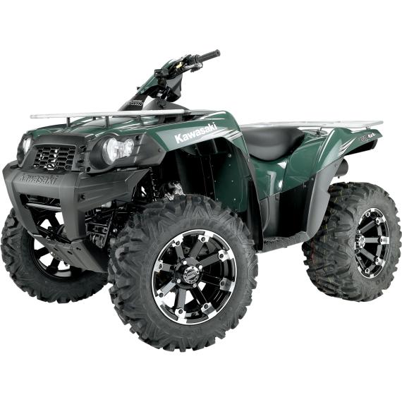Moose Racing Wheel - 393B - 12X8 - 4/110 - 4+4