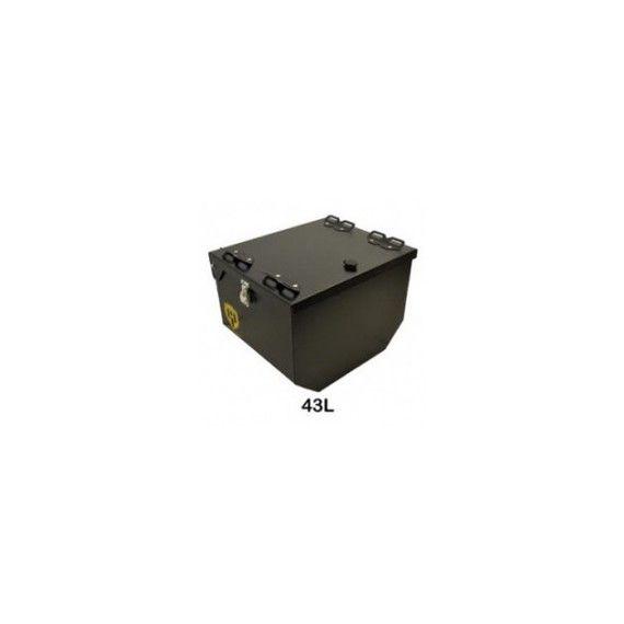 Happy Trails Products Suzuki V-Strom 650 Aluminum Top Box 43 Liters