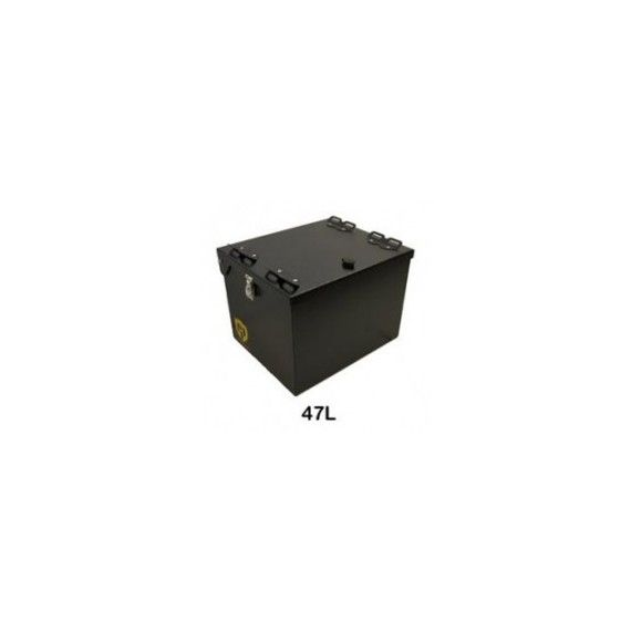 Happy Trails Products Suzuki V-Strom 650 Aluminum Top Box 47 Liters