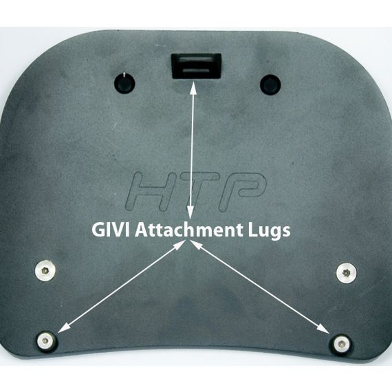Happy Trails Products GIVI SU Rack Adapter Plates for GIVI Monokey Luggage