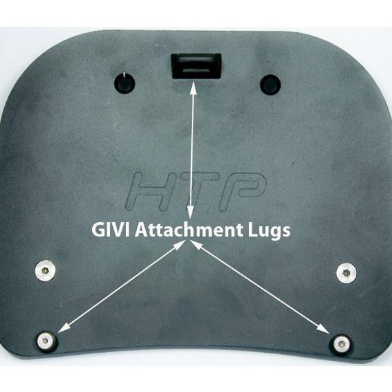 Happy Trails Products GIVI SU Rack Adapter Plates for GIVI Monokey Luggage