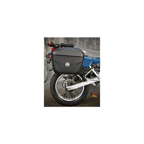 GIVI USA Motorcycle Accessories E22 GIVI Luggage Kit Kawasaki KLR250