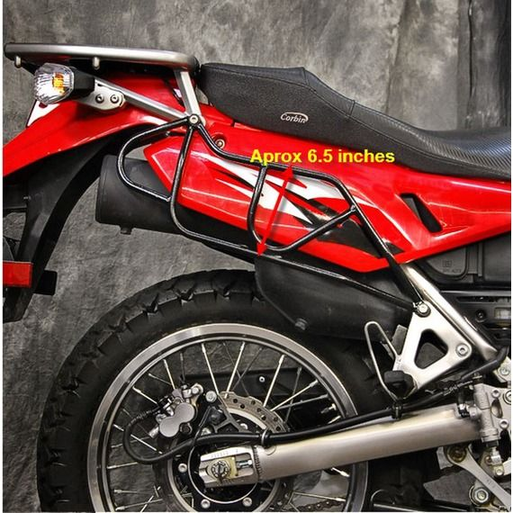 Happy Trails Products Happy Trails OSR Racks Kawasaki KLR650 - 1987 - 2007 & 2008