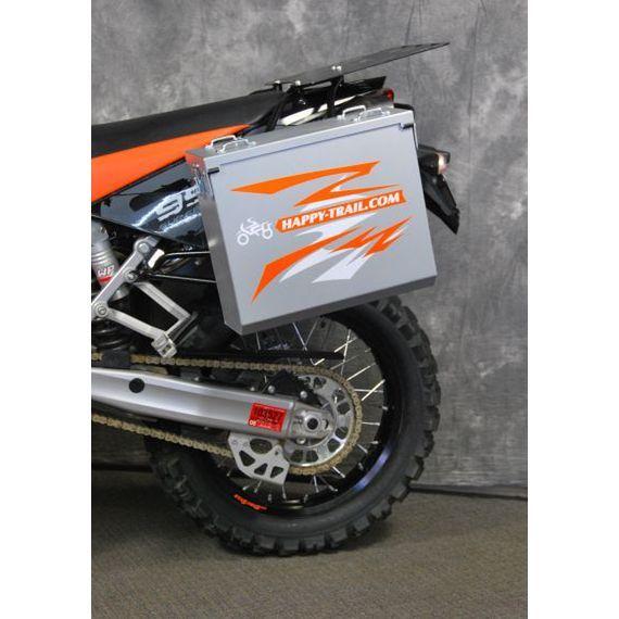 Happy Trails Products Aluminum Pannier Kit OWYHEE KTM LC8-950 Super Enduro