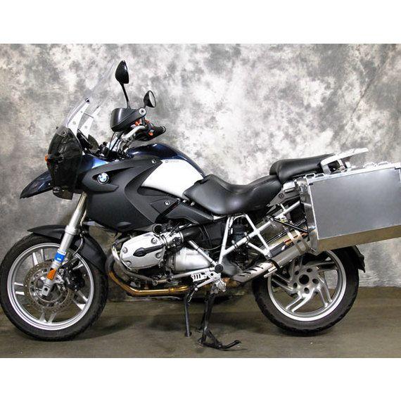 Happy Trails Products Aluminum Pannier Kit TETON - BMW R1200GS/GS ADV (High Pipe)