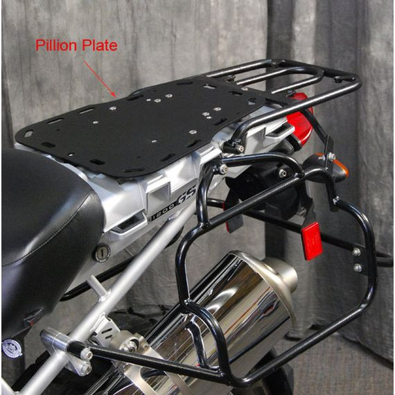 Happy Trails Products Pillion Plate for R1200GS - '05-'12