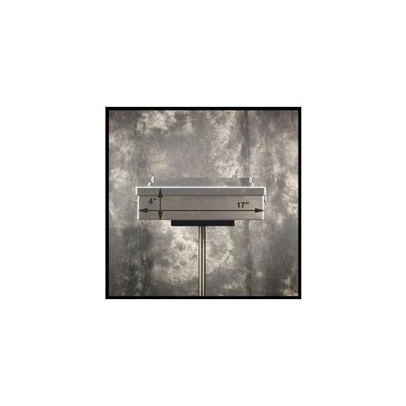 """Happy Trails Products KLR650A-E Aluminum Top Box 15 Liters - 14""""x17""""x4"""" NC"""
