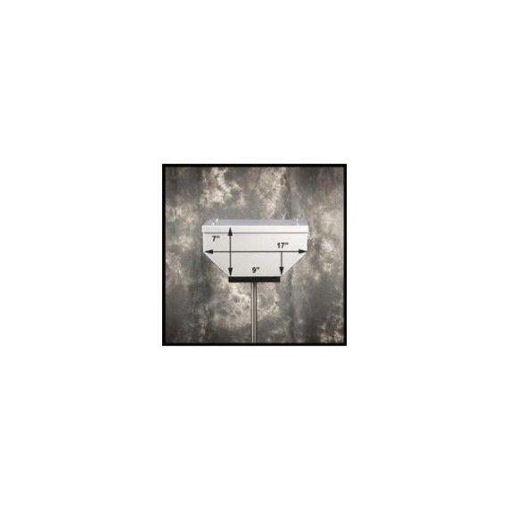 """Happy Trails Products Suzuki VStrom 650 Aluminum Top Box 29 Liters - 14""""x17""""x7"""""""