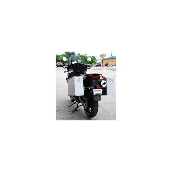 Happy Trails Products Aluminum Pannier Kit OWYHEE Suzuki DL1000 2014+