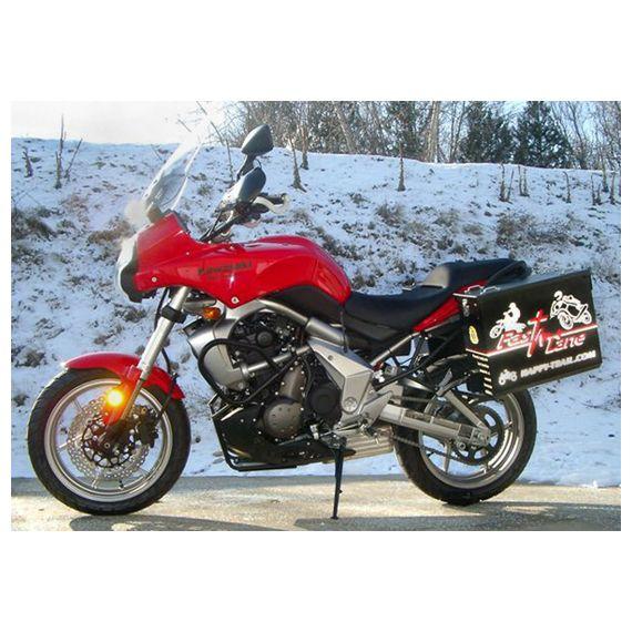 Happy Trails Products Aluminum Pannier Kit TETON Kawasaki Versys