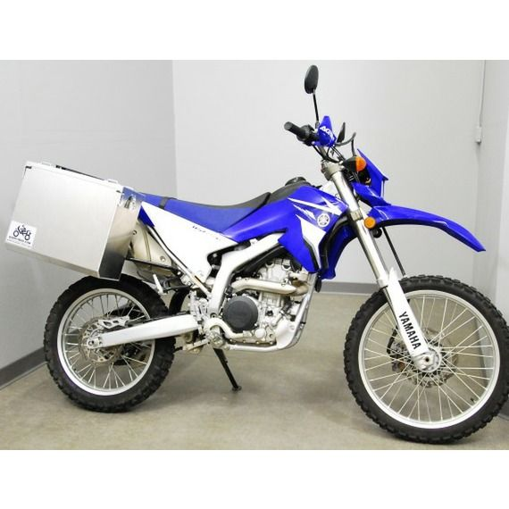 Happy Trails Products Aluminum Pannier Kit TETON Yamaha WR250R