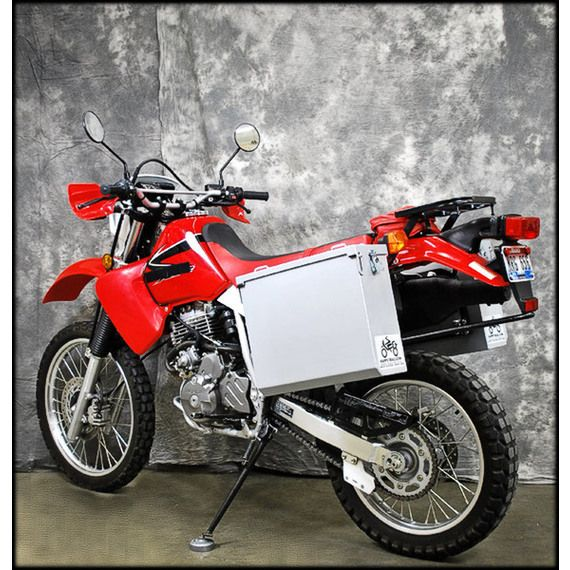 Happy Trails Products Aluminum Pannier Kit OWYHEE  Honda XR650L