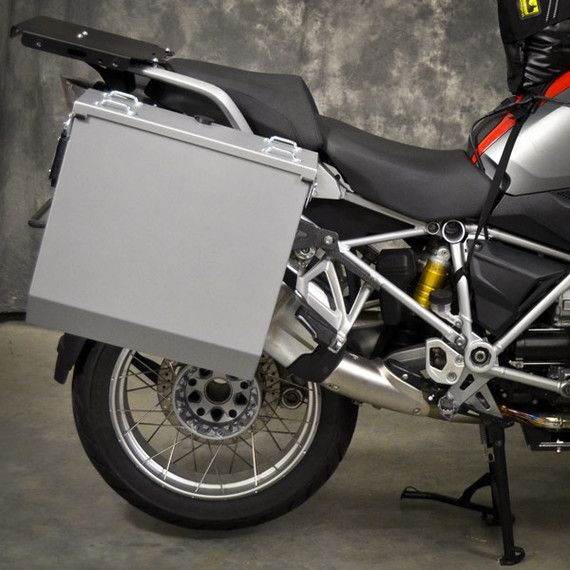 Happy Trails Products Aluminum Pannier Kit CASCADE BMW R1200/1250GSW