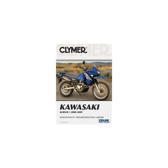 Clymer Clymer Kawasaki Manual KLR650 '08-'15 $31.95