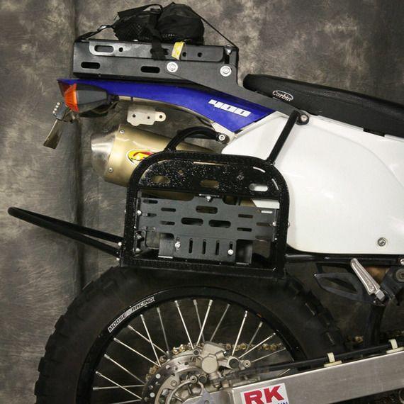 Happy Trails Products Happy Trails SU Side Rack  Suzuki DRZ400S/SM & KLX400S
