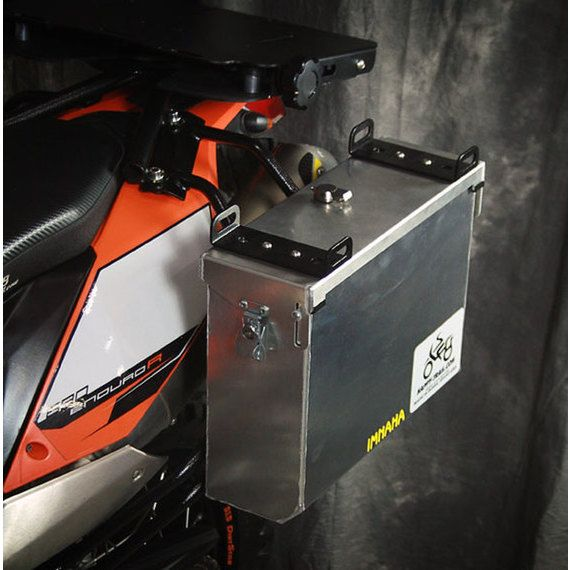 Happy Trails Products Aluminum Pannier Kit IMNAHA KTM 690 Enduro R 2008-2016