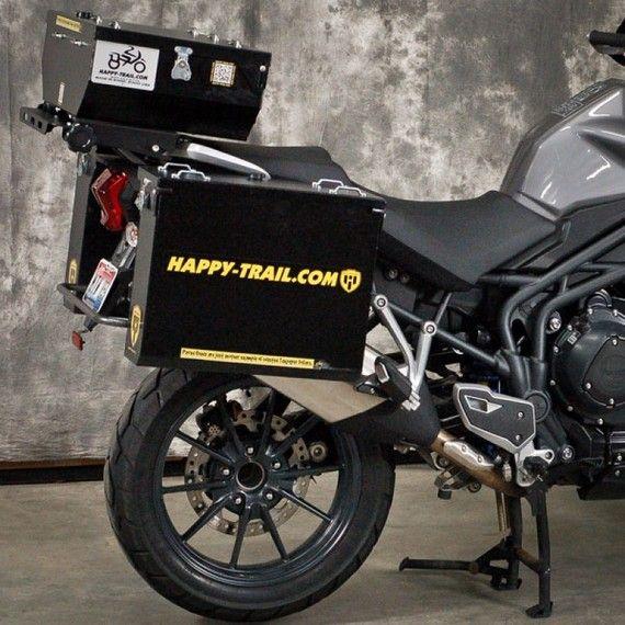 Happy Trails Products Aluminum Pannier Kit TETON Triumph Tiger Explorer | XC