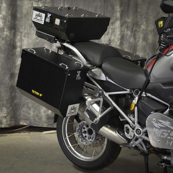 Happy Trails Products Aluminum Pannier Kit TETON BMW R1200/1250GSW