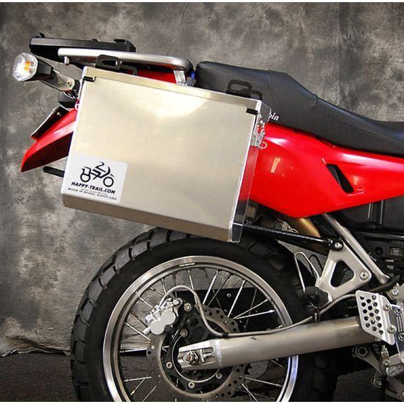 Happy Trails Products Aluminum Pannier Kit IMNAHA Suzuki VStrom 1000