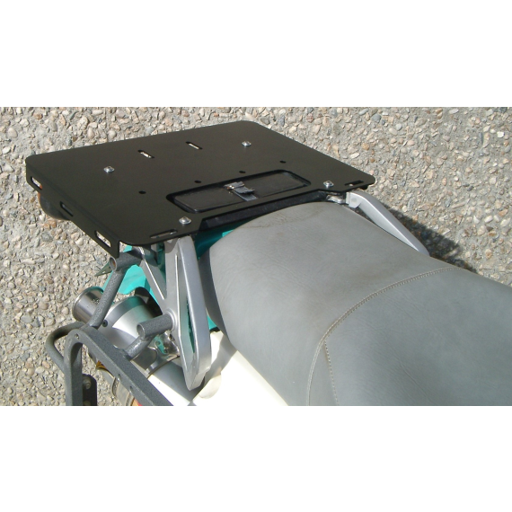 Happy Trails Products Happy TrailsT2 Luggage Plate Kawasaki KLR650 A Model 87-07