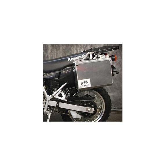 Happy Trails Products Aluminum Pannier Kit IMNAHA Honda Transalp XL600V