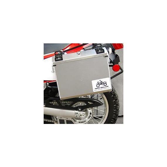 Happy Trails Products Aluminum Pannier Kit IMNAHA Kawasaki Versys