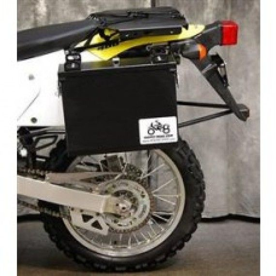 Happy Trails Products Aluminum Pannier Kit IMNAHA Suzuki DL650 2017+