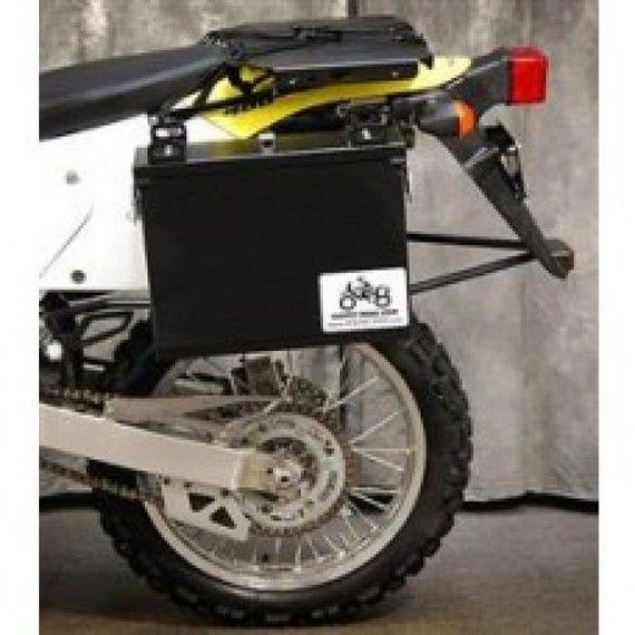 Happy Trails Products Aluminum Pannier Kit IMNAHA Suzuki VStrom 650