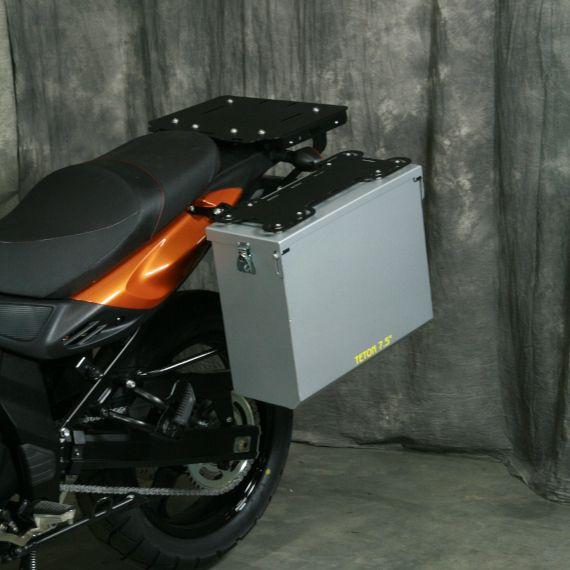 Happy Trails Products Aluminum Pannier Kit TETON Suzuki V-Strom 650