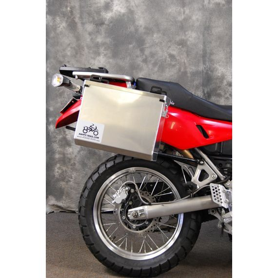 Happy Trails Products Aluminum Pannier Kit IMNAHA  Yamaha TW200