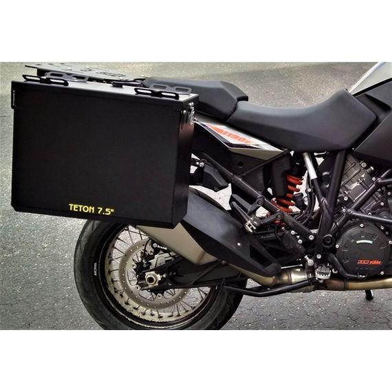 Happy Trails Products Aluminum Pannier Kit TETON -KTM 1190 & 1090 Adventure / R & 1290 Super Adventure