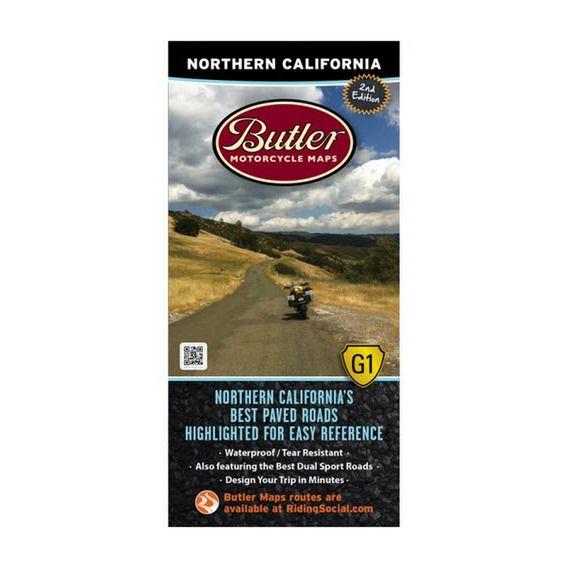 Butler Northern California Map