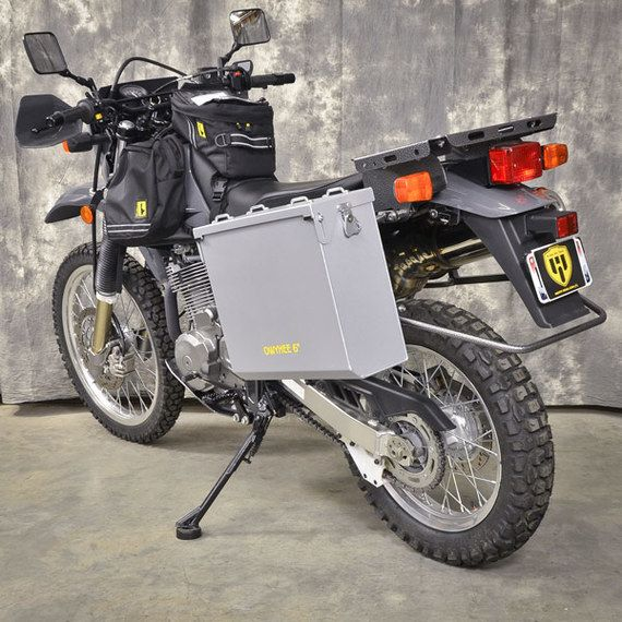 Happy Trails Products Aluminum Pannier Kit OWYHEE - Suzuki DR650