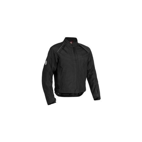 First Gear Rush Textile Jacket Men's Black (010715)