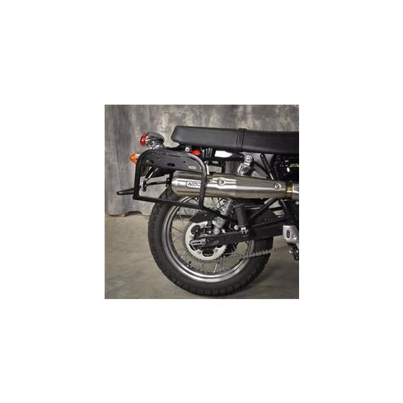 Happy Trails Products Arrow Exhaust kit for Happy Trails SU Rack, Triumph Scrambler