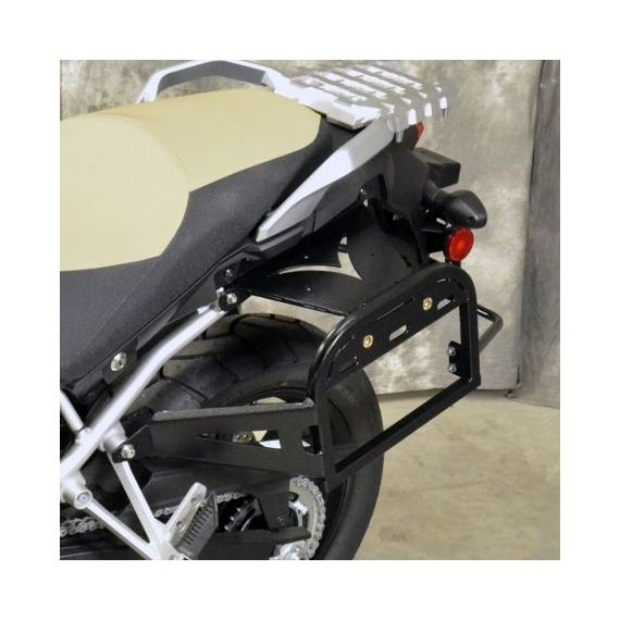 Happy Trails Products SU Side Racks Suzuki DL 1000 V-Strom 2014+
