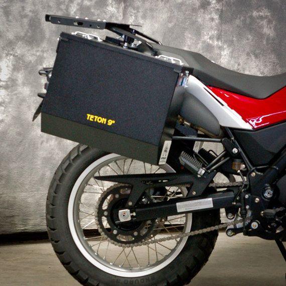 Happy Trails Products Aluminum Pannier Kit TETON Husqvarna TR650 Terra