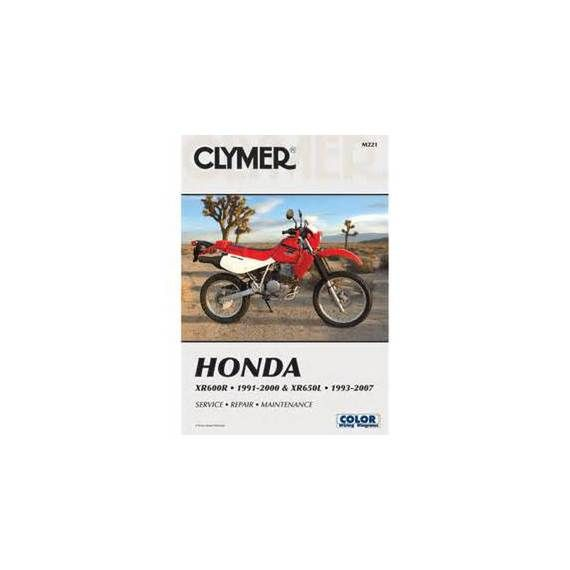 Clymer Honda Manual XR600R - XR650L