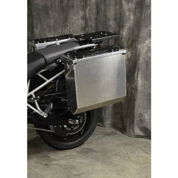 Happy Trails Products Aluminum Pannier Kit CASCADE Tiger 800-800XC