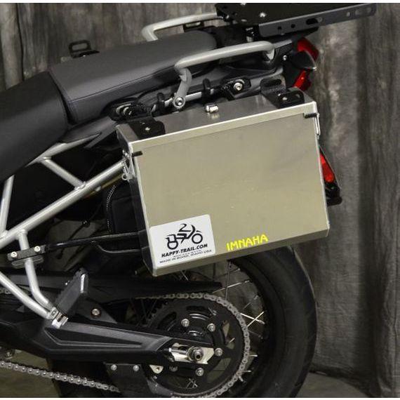 Happy Trails Products Aluminum Pannier Kit IMNAHA Tiger 800-800XC