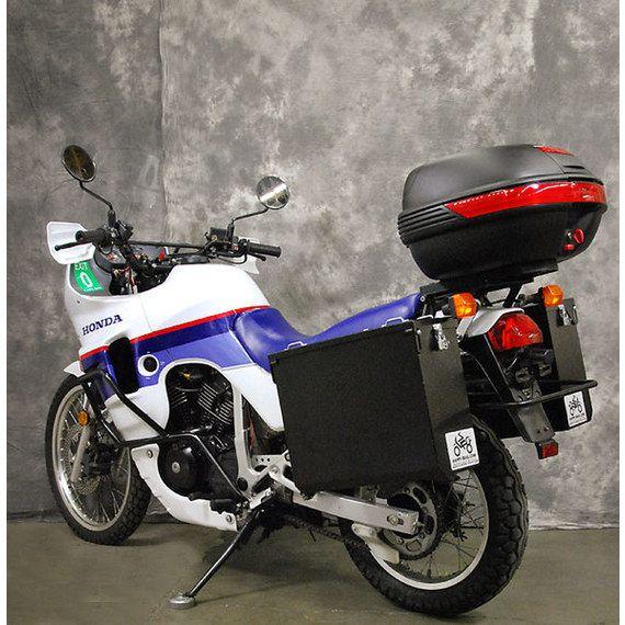 Happy Trails Products Aluminum Pannier Kit TETON Honda Transalp XL600V