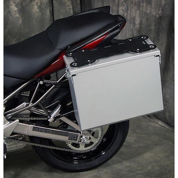Happy Trails Products Aluminum Pannier Kit TETON Kawasaki Versys 2010-2014
