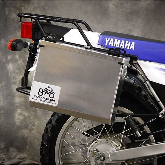 Happy Trails Products Aluminum Pannier Kit IMNAHA  Yamaha XT225