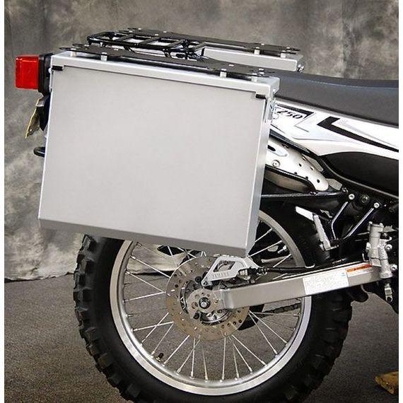Happy Trails Products Aluminum Pannier Kit TETON Yamaha XT250